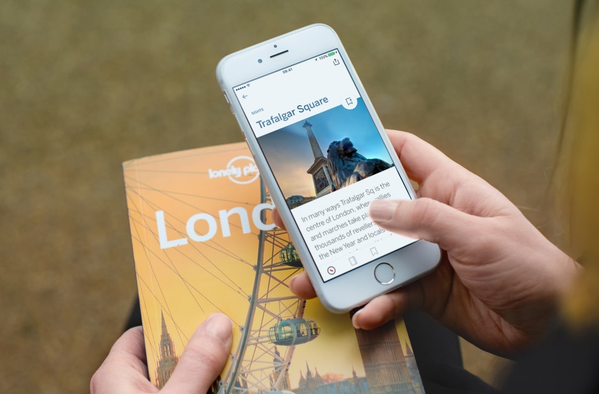 Lonely Planet Design and Development Teams collaborate