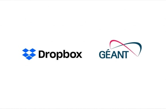 Dropbox and Geant Partnership for Education and Research